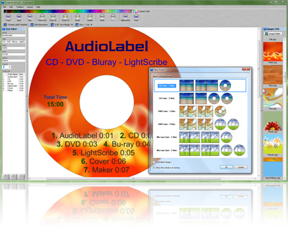 AudioLabel CD Cover Maker