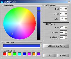 setting a custom color using audiolabel cd label maker With custom label maker software