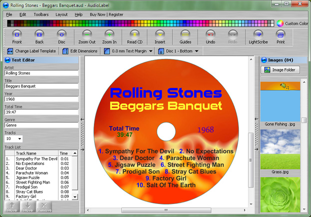 Cd Layout Design Software