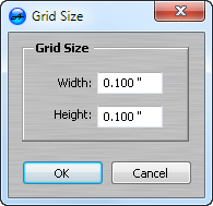Setting Grid Size when making CD Labels