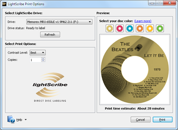 Lightscribe Templates And Custom Design Software Free
